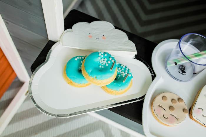 Doughnuts from a Little Chef Milk Bar Party on Kara's Party Ideas | KarasPartyIdeas.com (35)