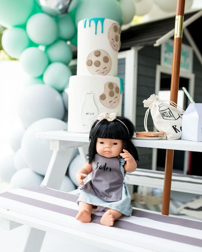 Baby Doll from a Little Chef Milk Bar Party on Kara's Party Ideas | KarasPartyIdeas.com (29)