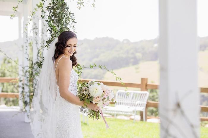 Minimal & Elegant Oceanside Wedding on Kara's Party Ideas | KarasPartyIdeas.com (35)