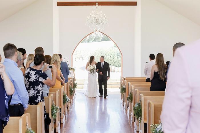 Minimal & Elegant Oceanside Wedding on Kara's Party Ideas | KarasPartyIdeas.com (32)