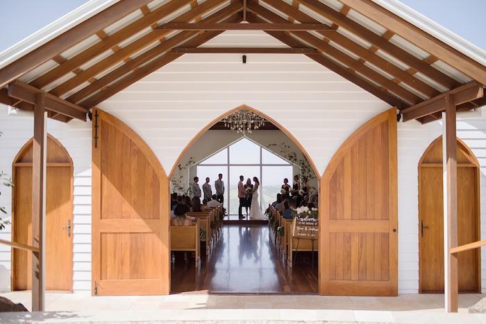 Minimal & Elegant Oceanside Wedding on Kara's Party Ideas | KarasPartyIdeas.com (31)