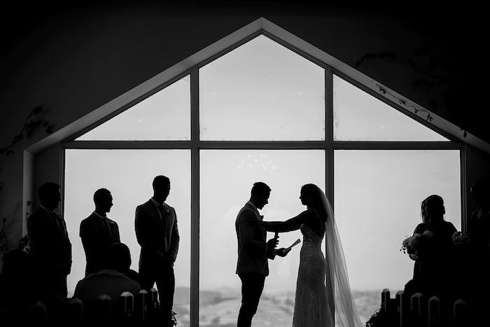 Minimal & Elegant Oceanside Wedding on Kara's Party Ideas | KarasPartyIdeas.com (30)