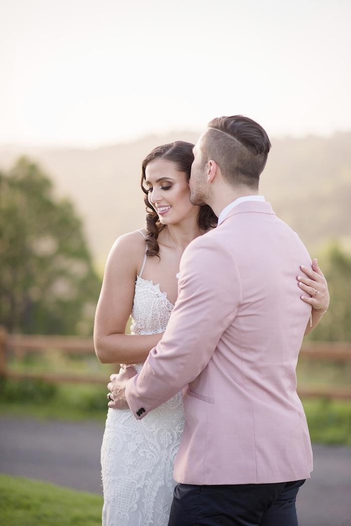 Minimal & Elegant Oceanside Wedding on Kara's Party Ideas | KarasPartyIdeas.com (25)