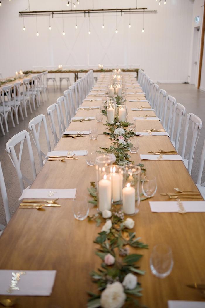 Kara S Party Ideas Minimal Amp Elegant Oceanside Wedding