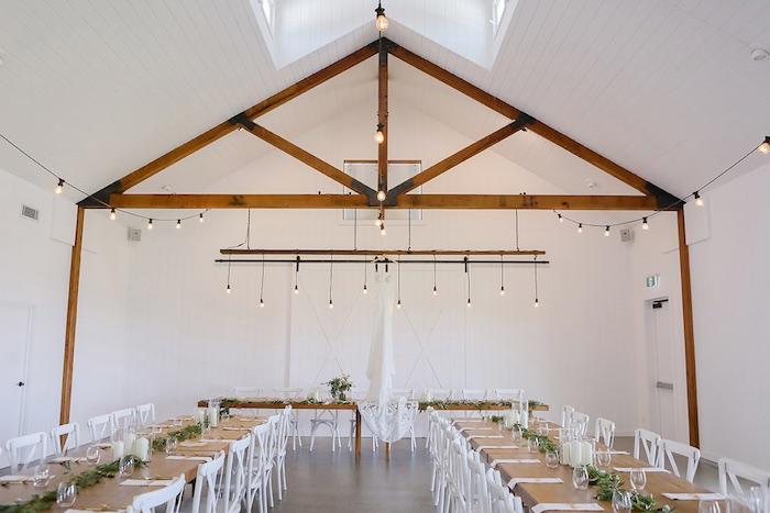 Dining Tables from a Minimal & Elegant Oceanside Wedding on Kara's Party Ideas | KarasPartyIdeas.com (44)