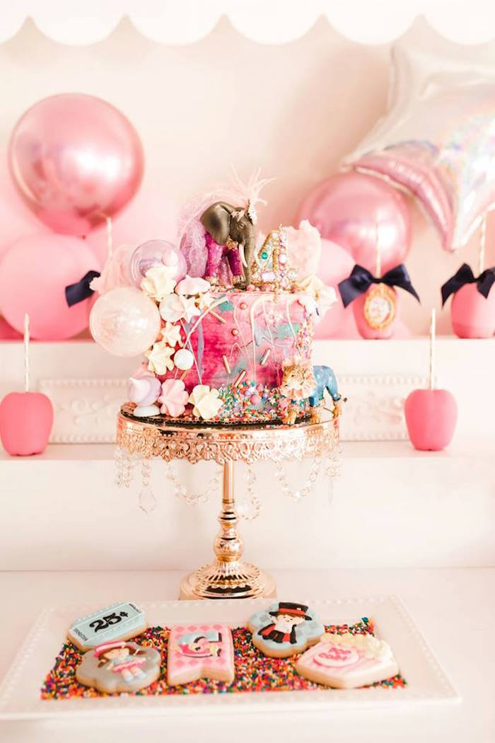 Modern Classic Circus Party on Kara's Party Ideas | KarasPartyIdeas.com (34)