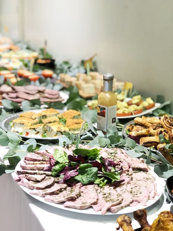 Grazing Food Table from a Modern Jungle Birthday Party on Kara's Party Ideas | KarasPartyIdeas.com (15)