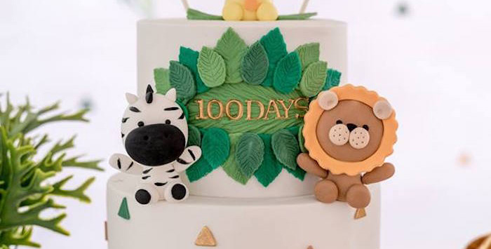Modern Safari 100 Days Party on Kara's Party Ideas | KarasPartyIdeas.com (1)