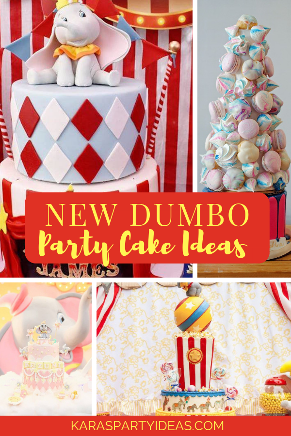 New Dumbo Cake Ideas via Kara's Party Ideas - KarasPartyIdeas.com