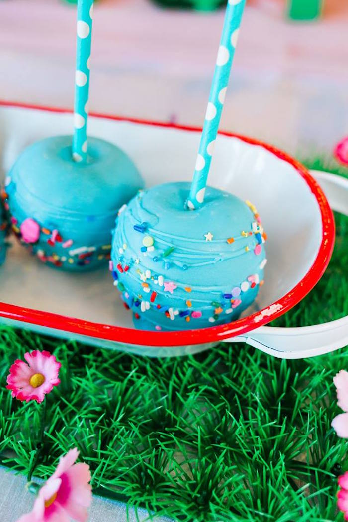 Dessert Pops from a Peppa Pig Birthday Party on Kara's Party Ideas | KarasPartyIdeas.com (12)