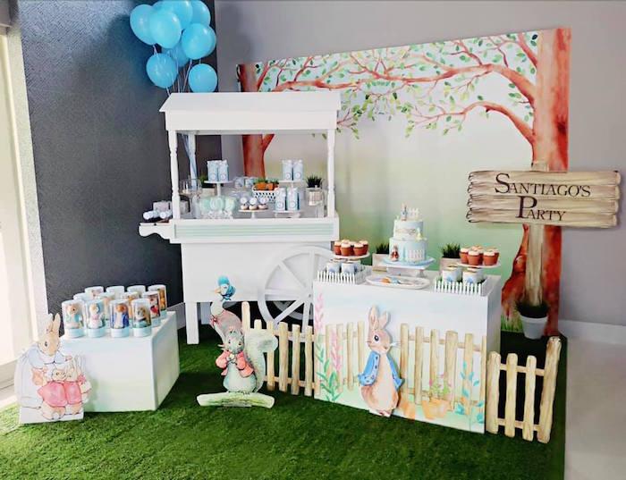 Peter Rabbit Birthday Party on Kara's Party Ideas | KarasPartyIdeas.com (14)