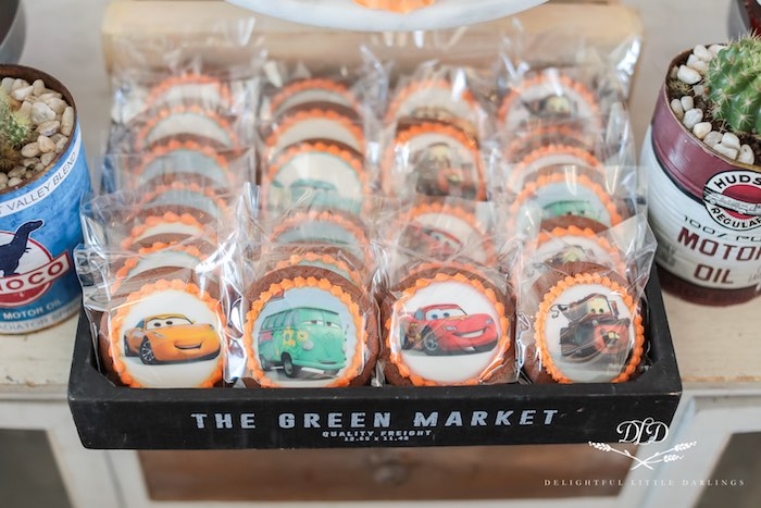Cars Character Cookies from a Radiator Springs Cars Birthday Party on Kara's Party Ideas | KarasPartyIdeas.com (29)
