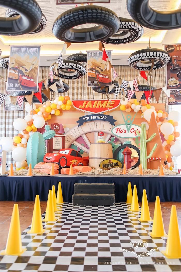 Kara S Party Ideas Radiator Springs Cars Birthday Party