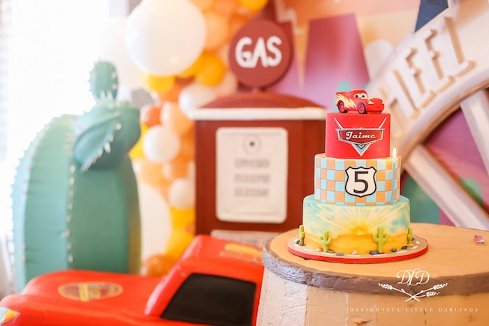 Radiator Springs Cars Birthday Party on Kara's Party Ideas | KarasPartyIdeas.com (7)