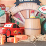 Radiator Springs Cars Birthday Party on Kara's Party Ideas | KarasPartyIdeas.com (1)