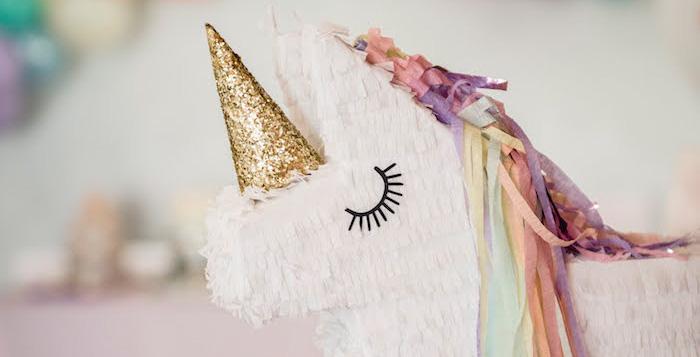 Rainbow Unicorn Birthday Party on Kara's Party Ideas | KarasPartyIdeas.com (3)