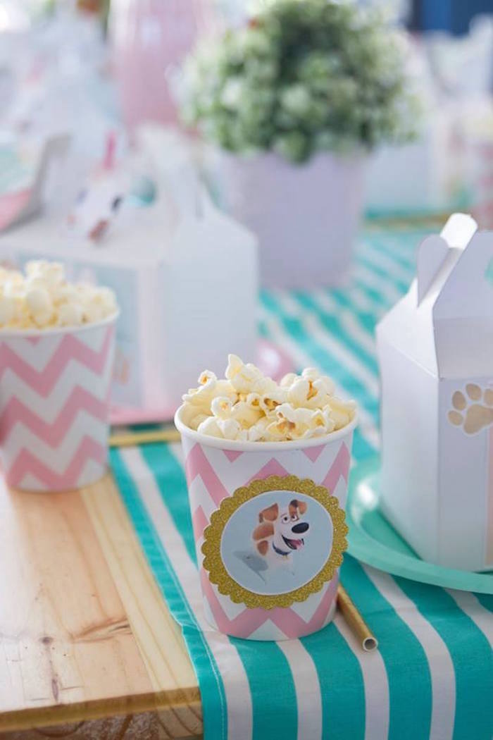 Max-adorned Popcorn Cup from a Secret Life of Pets Birthday Party on Kara's Party Ideas | KarasPartyIdeas.com (22)