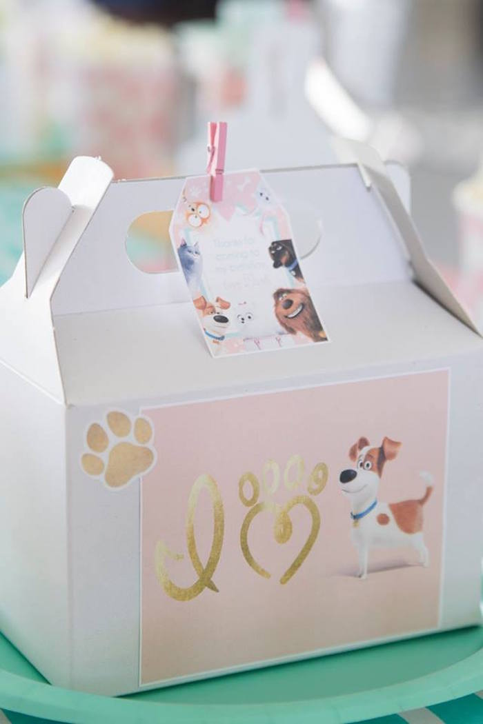 Secret Life of Pets Gable Lunch Box from a Secret Life of Pets Birthday Party on Kara's Party Ideas | KarasPartyIdeas.com (21)
