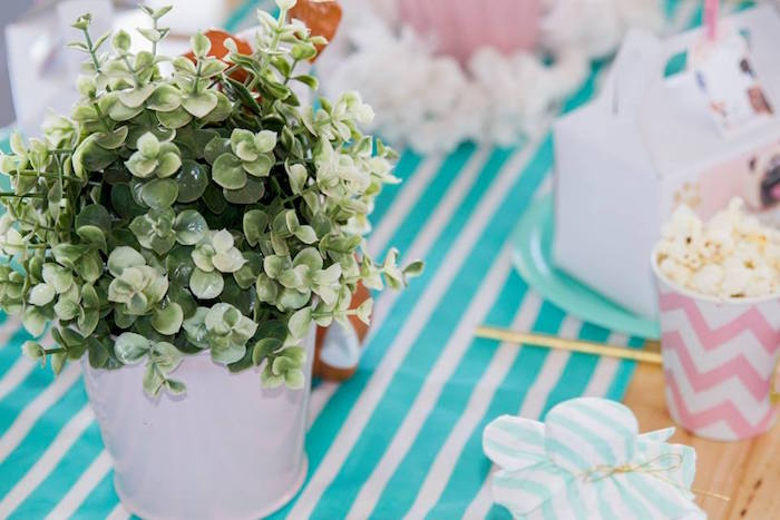 Plant Table Centerpiece from a Secret Life of Pets Birthday Party on Kara's Party Ideas | KarasPartyIdeas.com (18)
