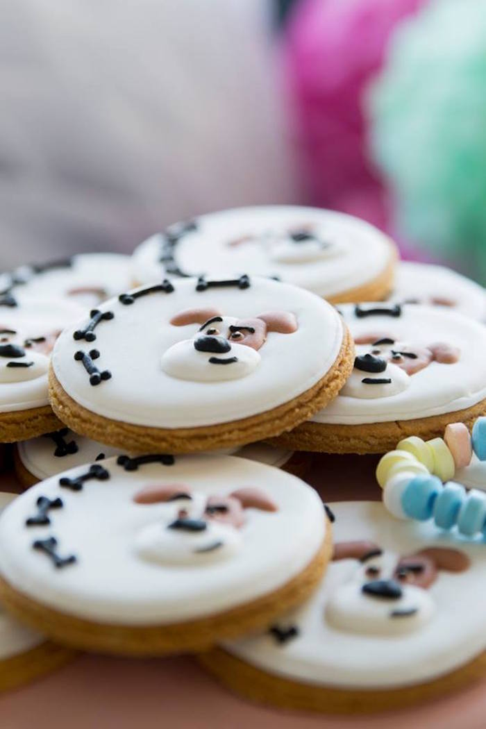 Max the Dog Cookies from a Secret Life of Pets Birthday Party on Kara's Party Ideas | KarasPartyIdeas.com (33)