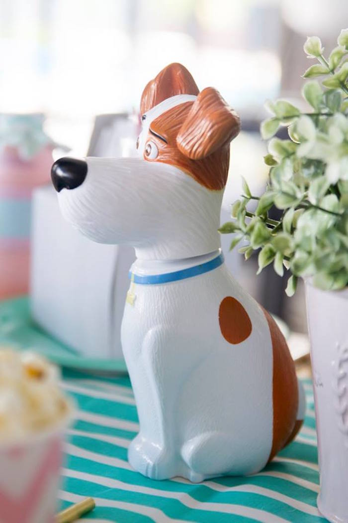 Max the Dog Cookie Jar from a Secret Life of Pets Birthday Party on Kara's Party Ideas | KarasPartyIdeas.com (11)