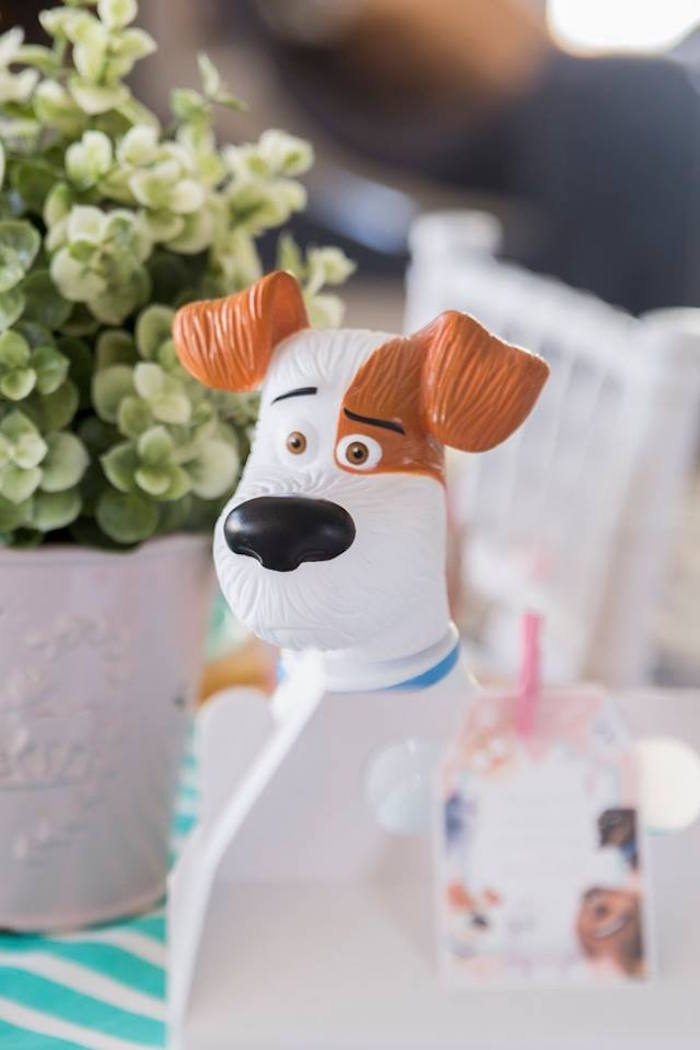 Max Figurine from a Secret Life of Pets Birthday Party on Kara's Party Ideas | KarasPartyIdeas.com (8)