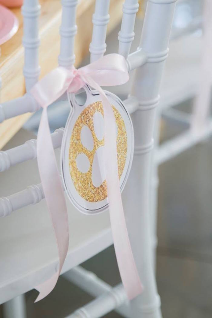 Gold Paw Chair Tie from a Secret Life of Pets Birthday Party on Kara's Party Ideas | KarasPartyIdeas.com (28)