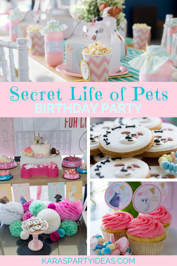 Secret Life of Pets Birthday Party via Kara's Party Ideas - KarasPartyIdeas.com