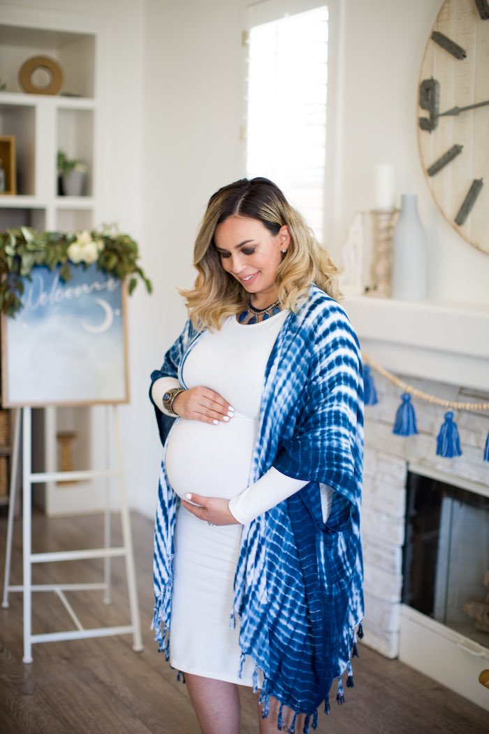 Shibori Tie Dye Baby Shower Brunch on Kara's Party Ideas | KarasPartyIdeas.com (10)