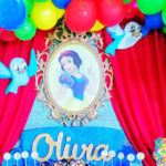 Snow White Birthday Party on Kara's Party Ideas | KarasPartyIdeas.com (4)