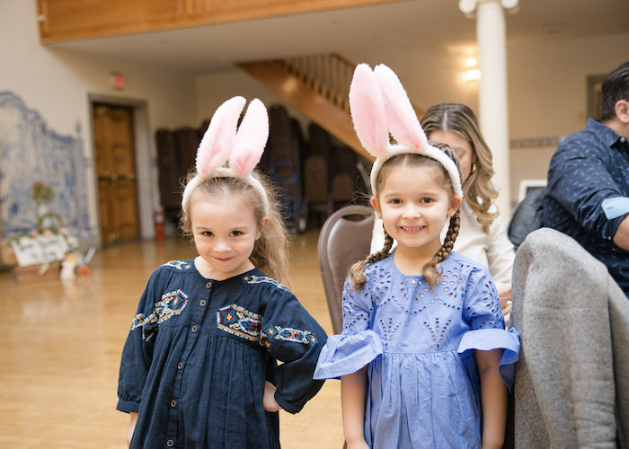 Bunny Ears from a Some-Bunny is One Birthday Party on Kara's Party Ideas | KarasPartyIdeas.com (16)