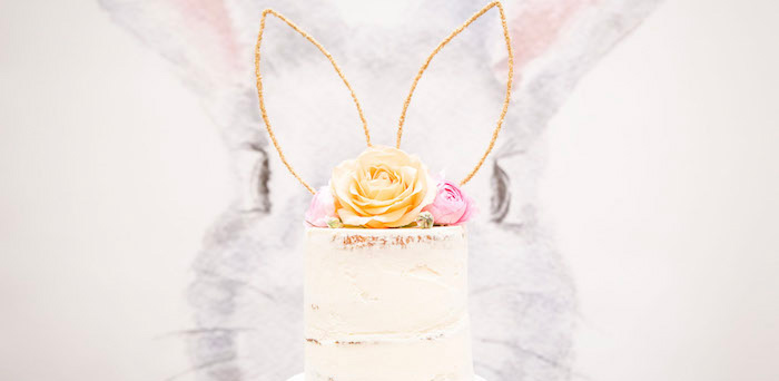 Some-Bunny is One Birthday Party on Kara's Party Ideas | KarasPartyIdeas.com (2)