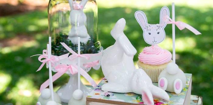 Somebunny is One Birthday Party on Kara's Party Ideas | KarasPartyIdeas.com (2)