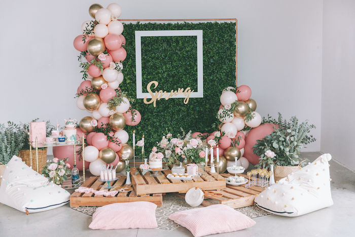 Spring Garden Tea Party on Kara's Party Ideas | KarasPartyIdeas.com (12)