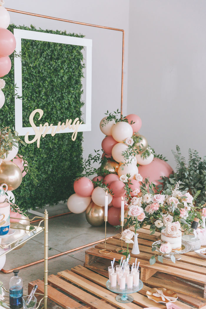 Spring Garden Tea Party on Kara's Party Ideas | KarasPartyIdeas.com (10)