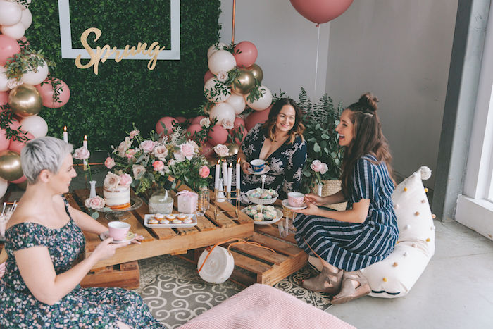 Spring Garden Tea Party on Kara's Party Ideas | KarasPartyIdeas.com (8)