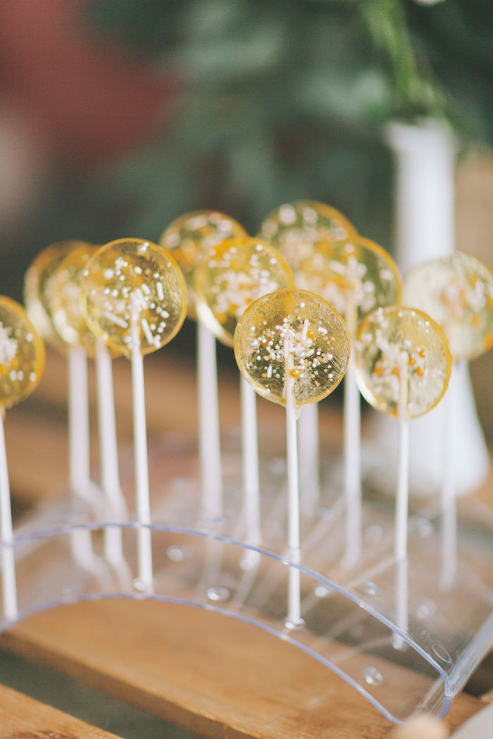 Sprinkle-filled Lollipops from a Spring Garden Tea Party on Kara's Party Ideas | KarasPartyIdeas.com (21)