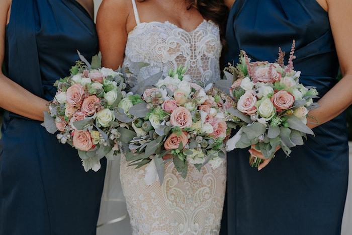 Bridal Bouquets from a Stylish & Elegant Wedding on Kara's Party Ideas | KarasPartyIdeas.com (16)
