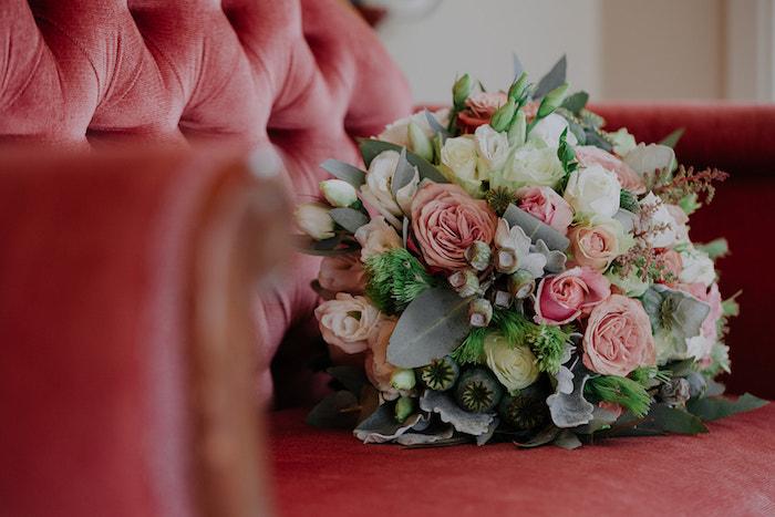 Bridal Bouquet from a Stylish & Elegant Wedding on Kara's Party Ideas | KarasPartyIdeas.com (26)