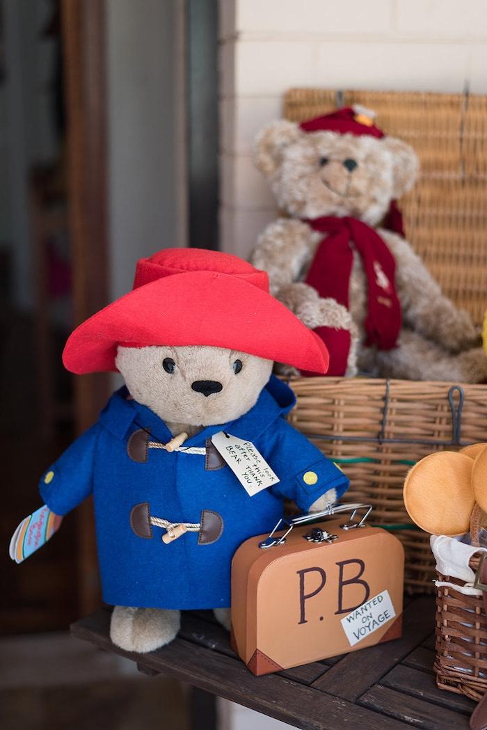 Paddington Bear from a Teddy Bear from a Teddy Bear Picnic Birthday Party on Kara's Party Ideas | KarasPartyIdeas.com (11)