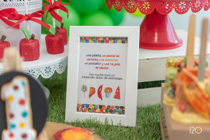Hungry Caterpillar-inspired Party Print from The Hungry Caterpillar Inspired Birthday Party on Kara's Party Ideas | KarasPartyIdeas.com (9)