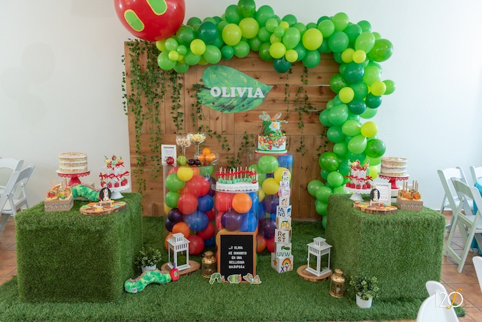 The Hungry Caterpillar Inspired Birthday Party on Kara's Party Ideas | KarasPartyIdeas.com (24)