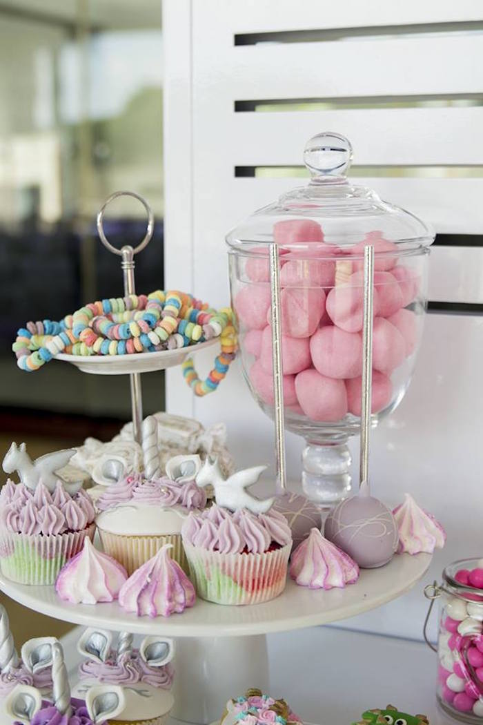 Sweets from a Unicorns and Dragons Birthday Party on Kara's Party Ideas | KarasPartyIdeas.com (15)