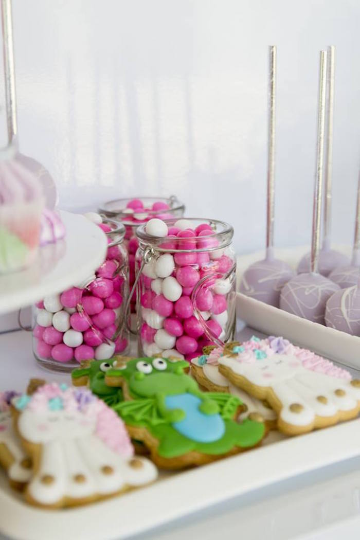 Candy Favor Jars from a Unicorns and Dragons Birthday Party on Kara's Party Ideas | KarasPartyIdeas.com (26)