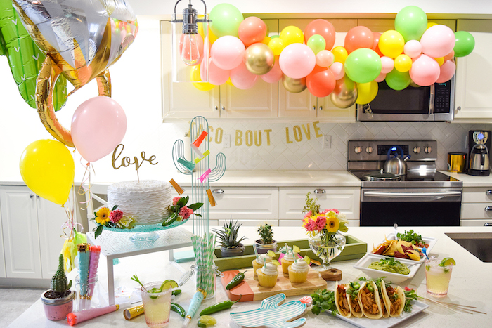 Vibrant Fiesta Engagement Party on Kara's Party Ideas | KarasPartyIdeas.com (13)