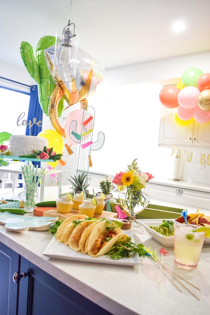 Vibrant Fiesta Engagement Party on Kara's Party Ideas | KarasPartyIdeas.com (9)
