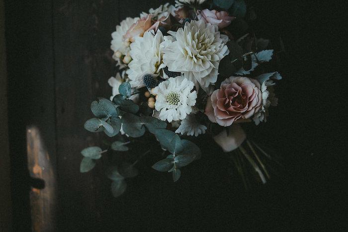 White + Rose + Green Bridal Bouquet from a Victorian Regal Wedding on Kara's Party Ideas | KarasPartyIdeas.com (27)