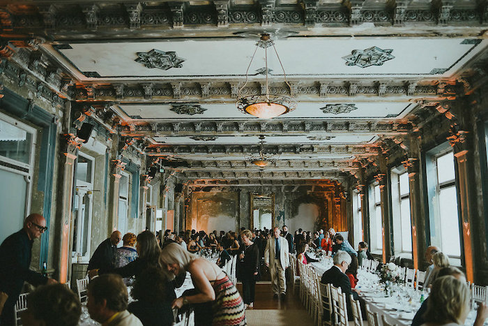 Victorian Dining Hall from a Victorian Regal Wedding on Kara's Party Ideas | KarasPartyIdeas.com (6)