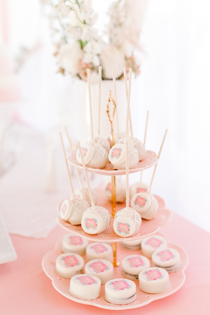 Wild One Cake Pops + Covered Oreos from a Whimsical Pastel Zoo Animal Birthday Party on Kara's Party Ideas | KarasPartyIdeas.com (7)