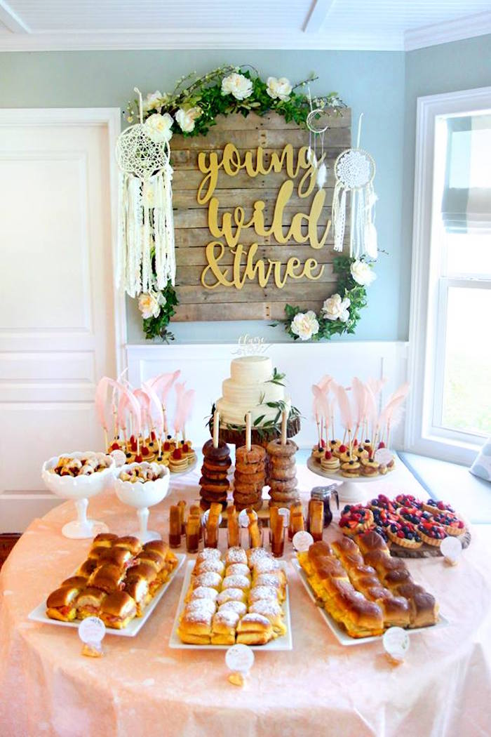 Young, Wild & Three Birthday Party on Kara's Party Ideas | KarasPartyIdeas.com (35)